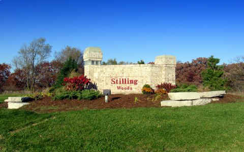 Stilling Woods Entrance in Mchenry Illinois